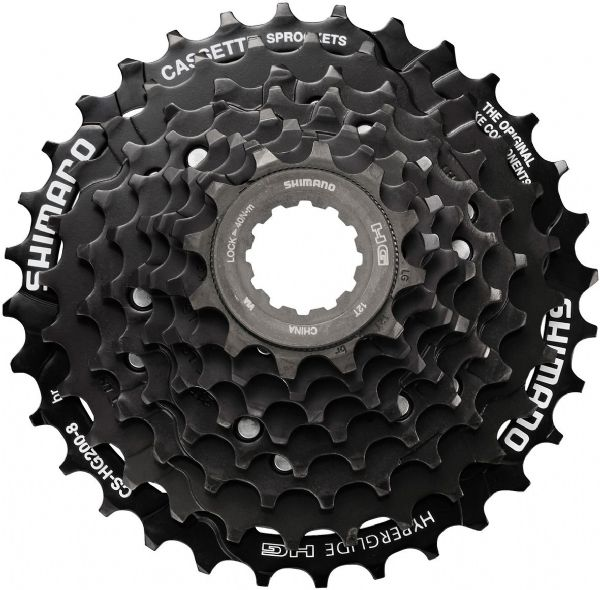 Shimano Tourney 8-speed cassette, 12-32T